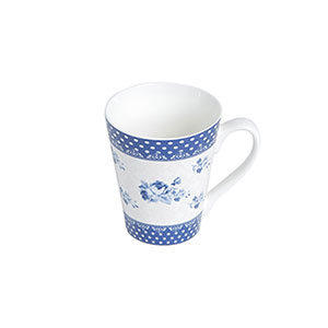 Caneca de Porcelana 340mL New Bone Elsa Slim - Lyor