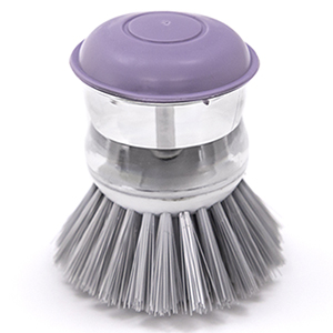 Escova de Limpeza com Dispenser 8,5cm Lilás - Easy Clean