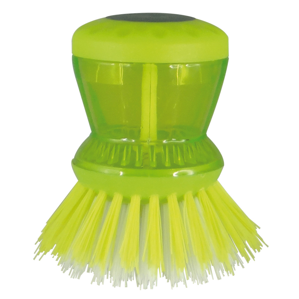 Escova de Limpeza com Dispenser 12,5cm Verde - Easy Clean